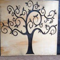 taglio ad acqua legno albero