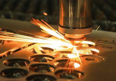 Taglio laser ferro